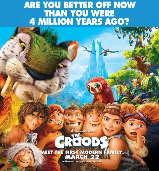 Photo Flash: New Poster for THE CROODS