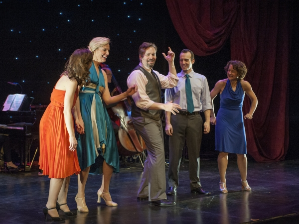 Photo Flash: First Look at Mercury Theater's A GRAND NIGHT FOR SINGING