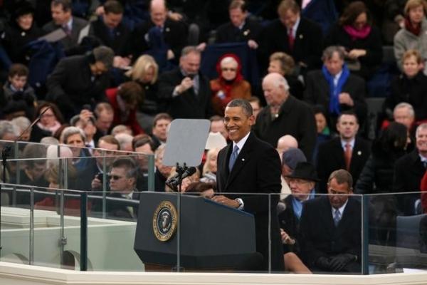 BARACK OBAMA at ABC NEWS' Inauguration Day Coverage