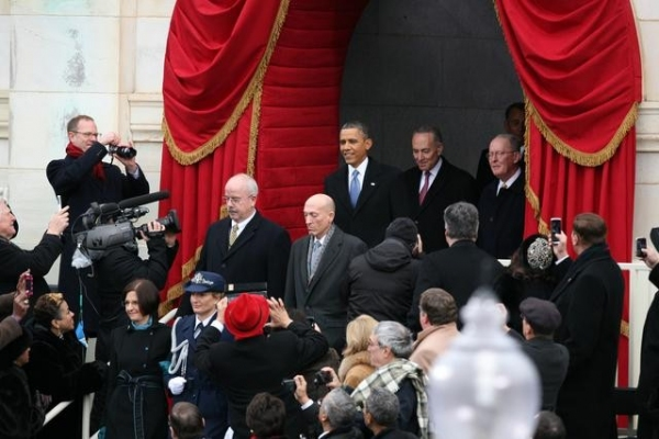BARACK OBAMA, CHARLES SCHUMER at ABC NEWS' Inauguration Day Coverage