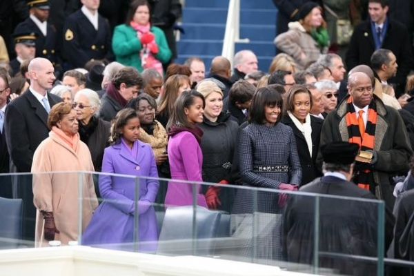 MICHELLE OBAMA at ABC NEWS' Inauguration Day Coverage
