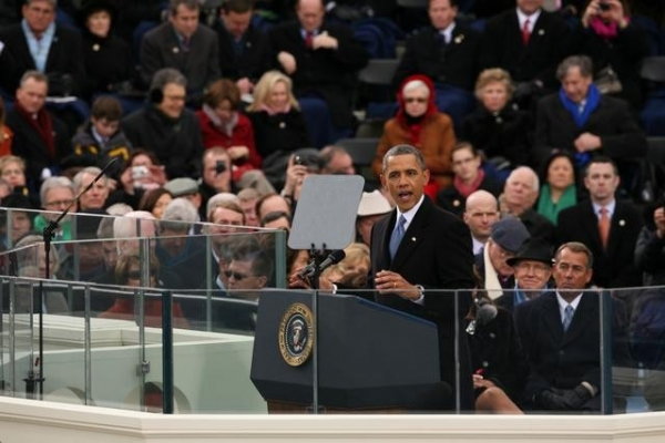 BARACK OBAMA at ABC NEWS' Inauguration Day Coverage