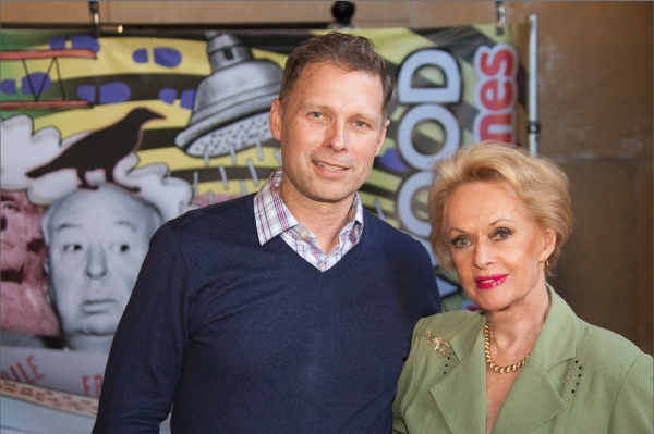 Tony Hoover and Tippi Hedren