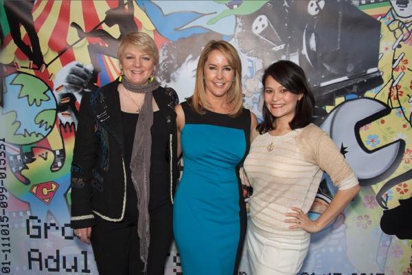 Three former child stars Alison Arngrim, Erin Murphy and Romi Dames