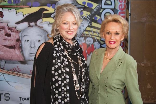 The Birds co-stars, Veronica Cartwright and Tippi Hedren Photo