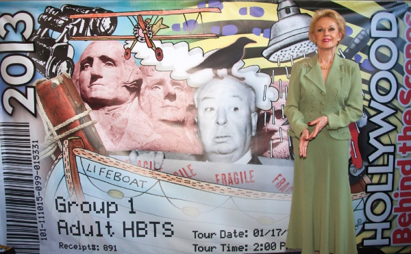 Photo Flash: Red Line Tours Launches 2013 Collectors Tickets Honoring Hollywood Directors