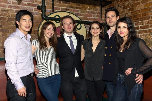 Eddie Liu, Katie Blake, Michael Rabe, Maya Kazan, Rhett Owen, Maryam Hassouni