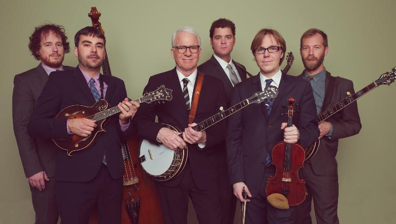 Steve Martin and The Steep Canyon Rangers Announce North American Tour