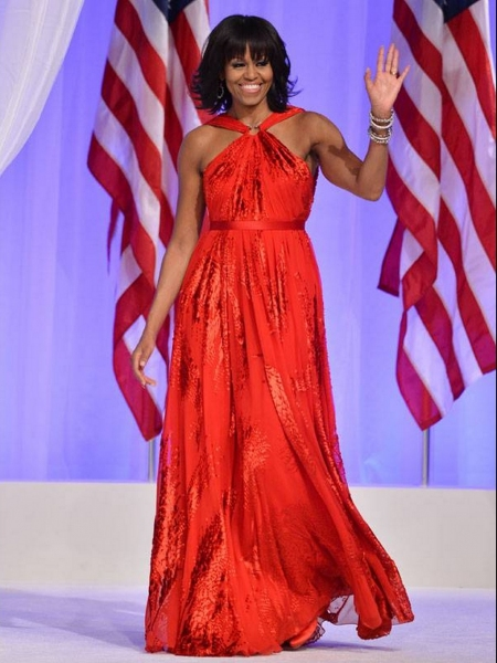 Fashion Photo of the Day 1/22/13 - Michelle Obama