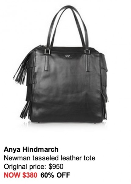 Daily Deal 1/22/13: Anya Hindemarch