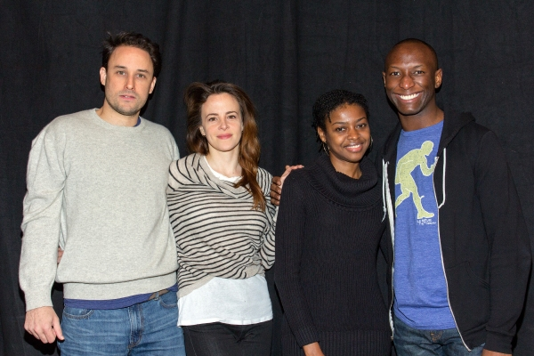 Photo Coverage: NYTW's BELLEVILLE Cast Meets the Press!