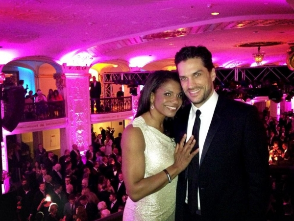 Audra McDonald, Will Swenson at Twitter Watch: Audra McDonald & Will Swenson's Inauguration Adventures!