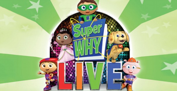 SUPER WHY LIVE! to Tour U.S. in April & May