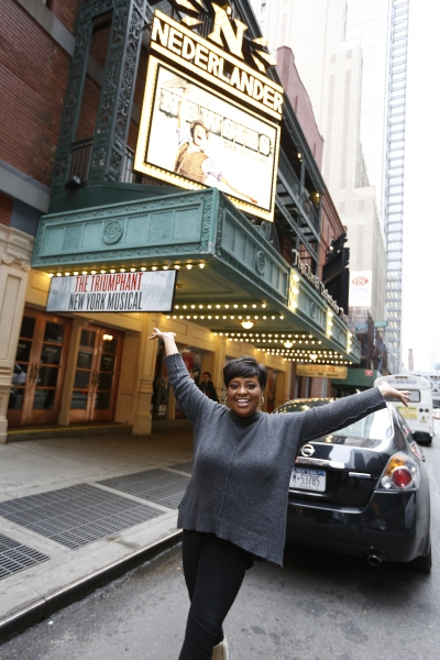 Sherri Shepherd at THE VIEW's Sherri Shepherd Makes Appearance in NEWSIES