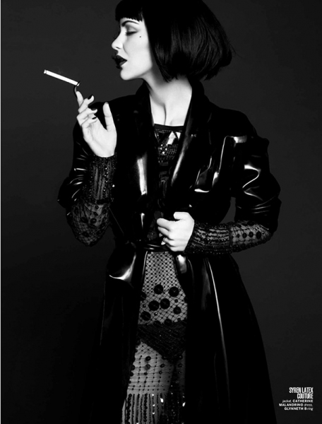 Photo Flash: Katharine McPhee Channels Co-Star Anjelica Huston in Photoshoot