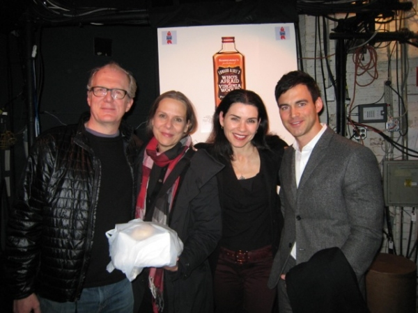 Photo Flash: Julianna Margulies and Philip Seymour Hoffman Visit WHO'S AFRAID OF VIRGINIA WOOLF?