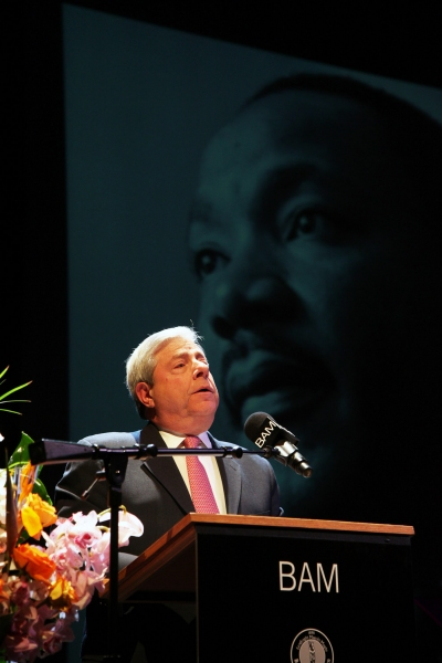 Photo Flash: BP Markowitz Joins Harry Belafonte at BAM's Martin Luther King, Jr. Tribute