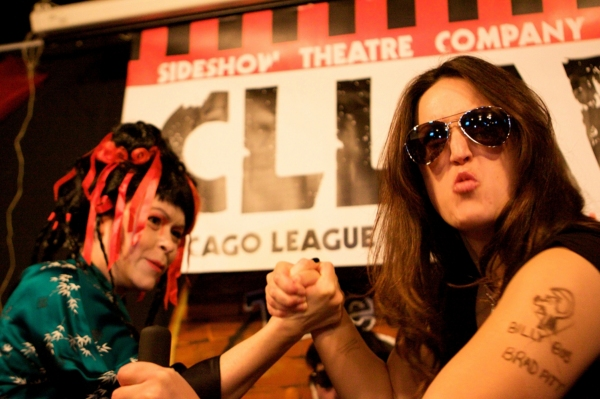 Photo Flash: Sideshow Theatre Company's CLLAW XV Lady Arm Wrestlers, Returning 2/16
