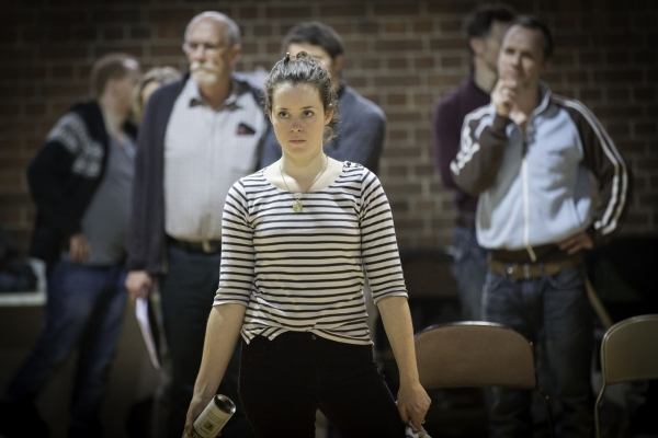 Photo Flash: James McAvoy, Claire Foy and More in Rehearsal for MACBETH