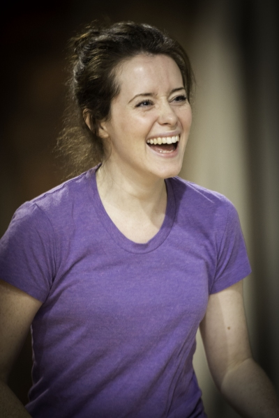 Claire Foy at James McAvoy, Claire Foy and More in Rehearsal for MACBETH
