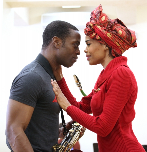 FREEZE FRAME: Michelle Williams & Adesola Osakalumi Prepare for FELA! National Tour