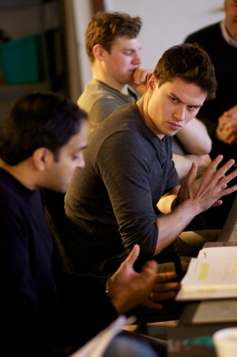 Photo Flash: Sneek Peek at Troy West, JJ Phillips and More in Rehearsals for BENGAL TIGER AT THE BAGHDAD ZOO
