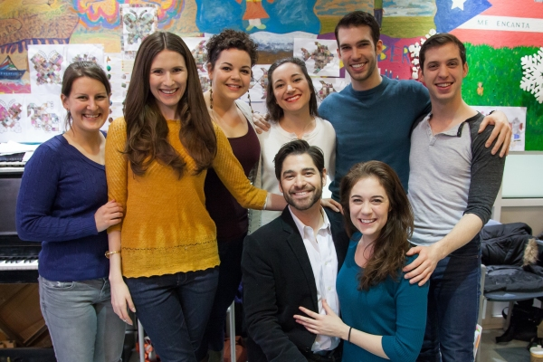 Photo Flash: Cast from Broadway's EVITA Joins Forces with Sing For Your Seniors
