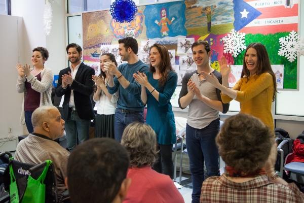Melanie Field, Daniel Torres, Laurel Harris, Jason Lee Garret and Jackie Vanderbeck  Photo