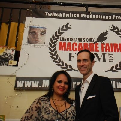 Photo Flash: Star of ZOMBIE Bill Connington Attends Macabre Film Festival