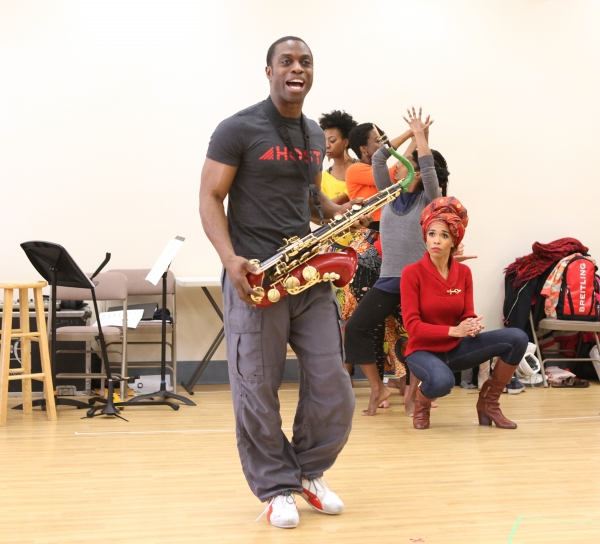 Photo Coverage: FELA! National Tour Cast Meets the Press- Michelle Williams and More!