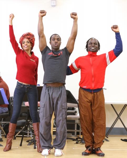 Michelle Williams & Adesola Osakalumi & Gelan Lambert  Photo