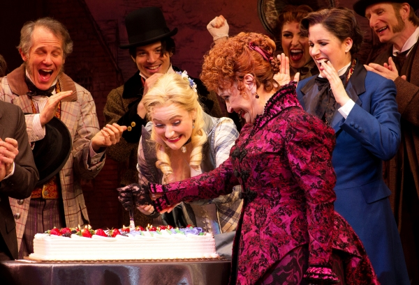Photo Coverage: THE MYSTERY OF EDWIN DROOD Cast Celebrates Chita Rivera's Birthday!