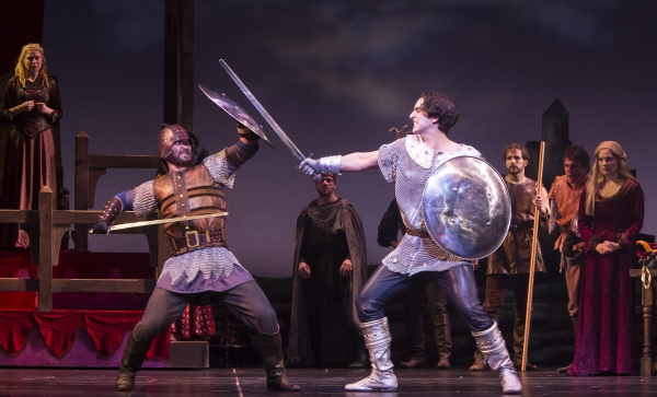 Photo Flash: First Look at Robert Petkoff, Tony Sheldon and More in TUTS' CAMELOT