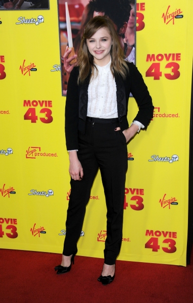 Chloe Grace Moretz at 'Movie 43' Film Premiere, Los Angeles (Photo by Stewart Cook / Rex USA)