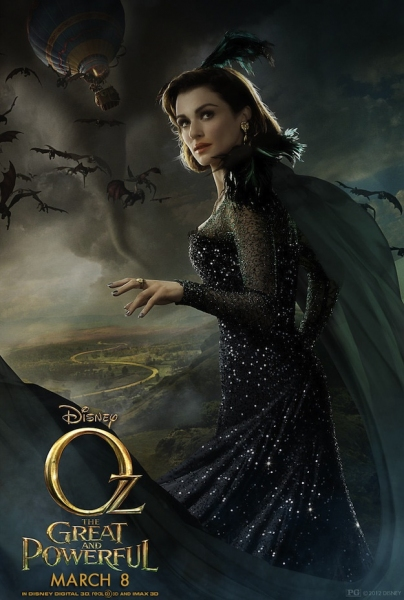 Photo Flash: First Look - Rachel Weisz Featured OZ THE GREAT AND POWERFUL Poster