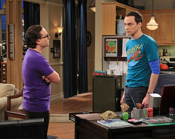 Johnny Galecki, Jim Parsons at THE BIG BANG's 'Spoiler Alert Segmentation,' Airing 2/7
