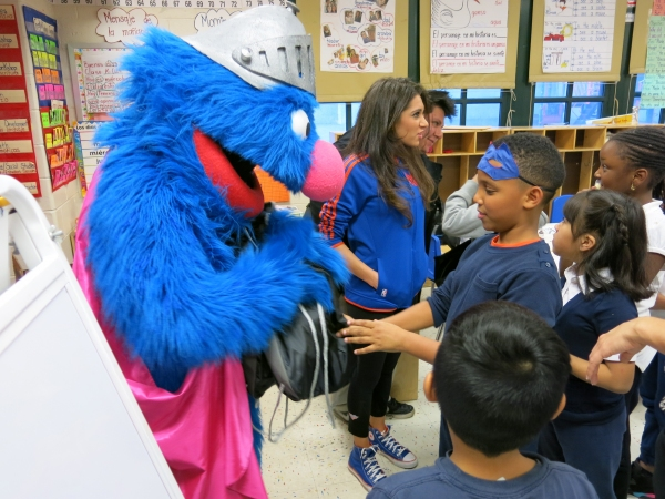 Photo Flash: SESAME STREET LIVE's Super Grover Teaches Garden of Dreams Kids How to Be a Super Hero
