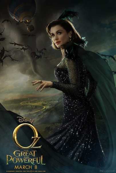 Photo Flash: New Poster Art for Disney's OZ THE GREAT AND POWERFUL