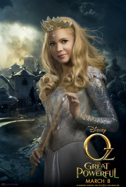 Photo Flash: First Look - Michelle Williams as 'Glinda' in OZ THE GREAT AND POWERFUL