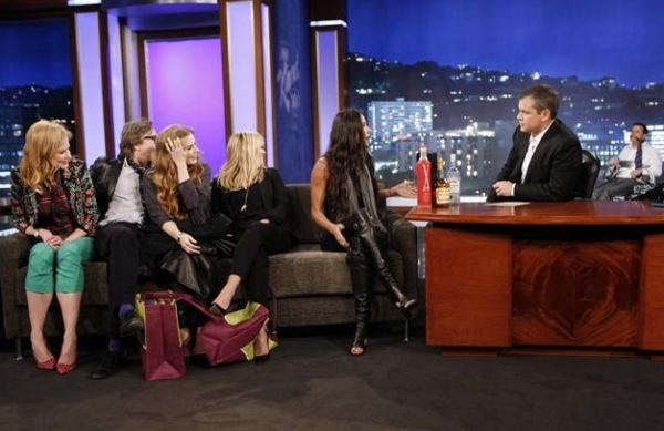 Photo Flash: Matt Damon & Friends Hijack JIMMY KIMMEL LIVE