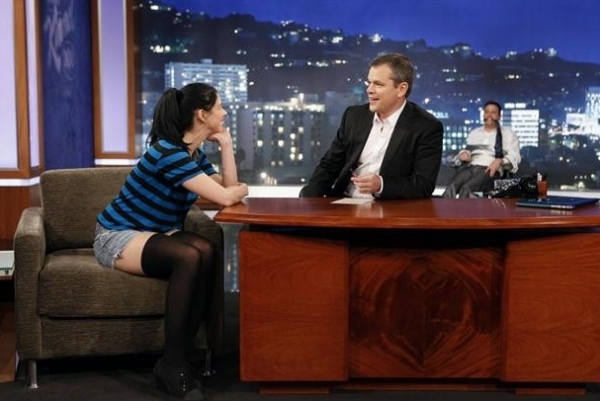 Sarah Silverman, Matt Damon