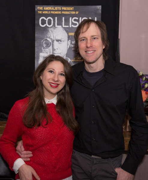 Photo Flash: The Amoralists' COLLISION Opens at Rattlestick Playwrights Theater