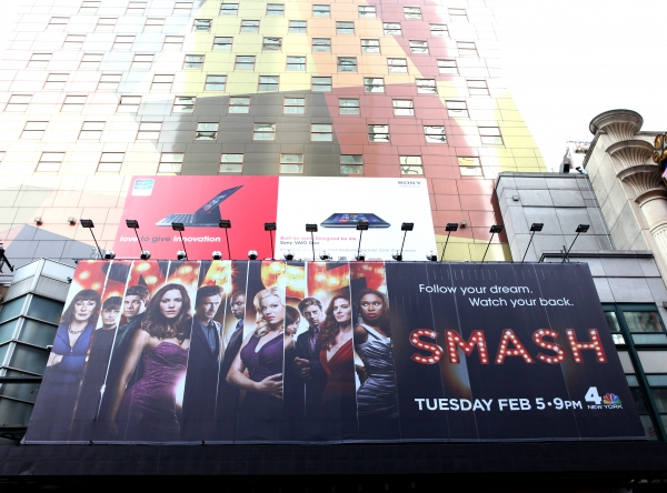 Photo Coverage: SMASH Billboard Towers Over Times Square