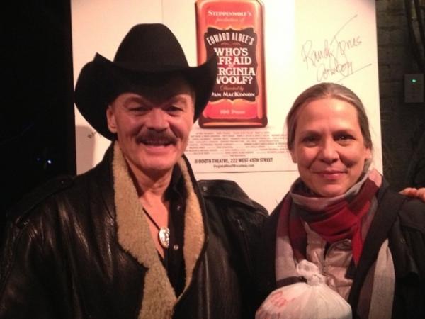 Photo Flash: Randy Jones, Cowboy from The Village People, Visits VIRGINIA WOOLF