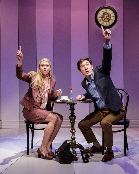 Photo Flash: First Look at Primary Stages' ALL IN THE TIMING at 59E59 Theaters