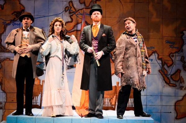 Photo Flash: First Look at International City Theatre's AROUND THE WORLD IN 80 DAYS