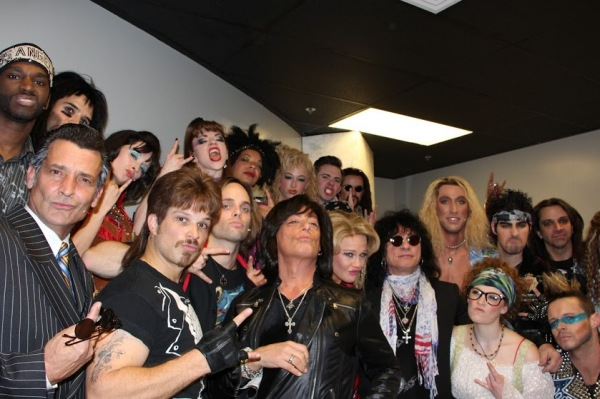 Photo Flash: Musicians Paul Shortino and Joe Lynn Turner Visit ROCK OF AGES Las Vegas