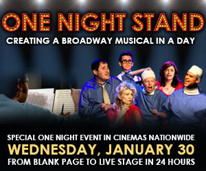 FLASH SPECIAL: ONE NIGHT STAND Gets On Its Feet, Featuring Four Familiar Faces