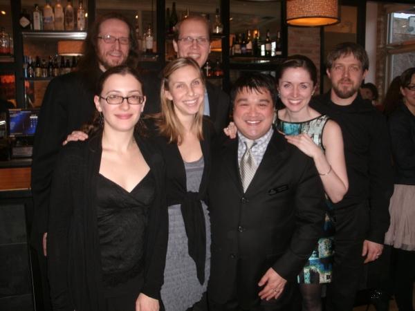 Front Row left to right Jennifer Ruggieri, Laurel Humiston, Eugene Dizon, Elizabeth D Photo