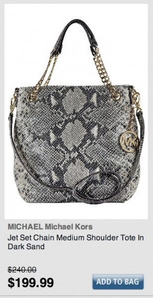 Daily Deal 1/26/13: Michael Kors